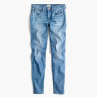 "8"" Toothpick jean in Chimney wash"