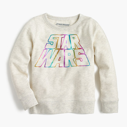 Kids' Star Wars™ for crewcuts rainbow sweatshirt