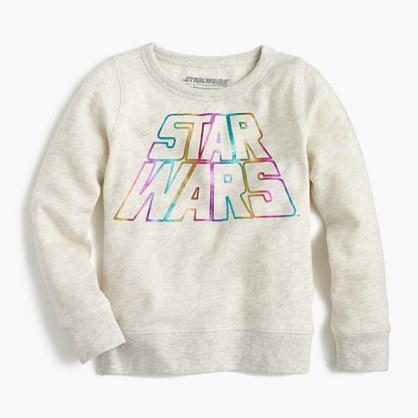 Kids' Star Wars™ for crewcuts rainbow sweatshirt
