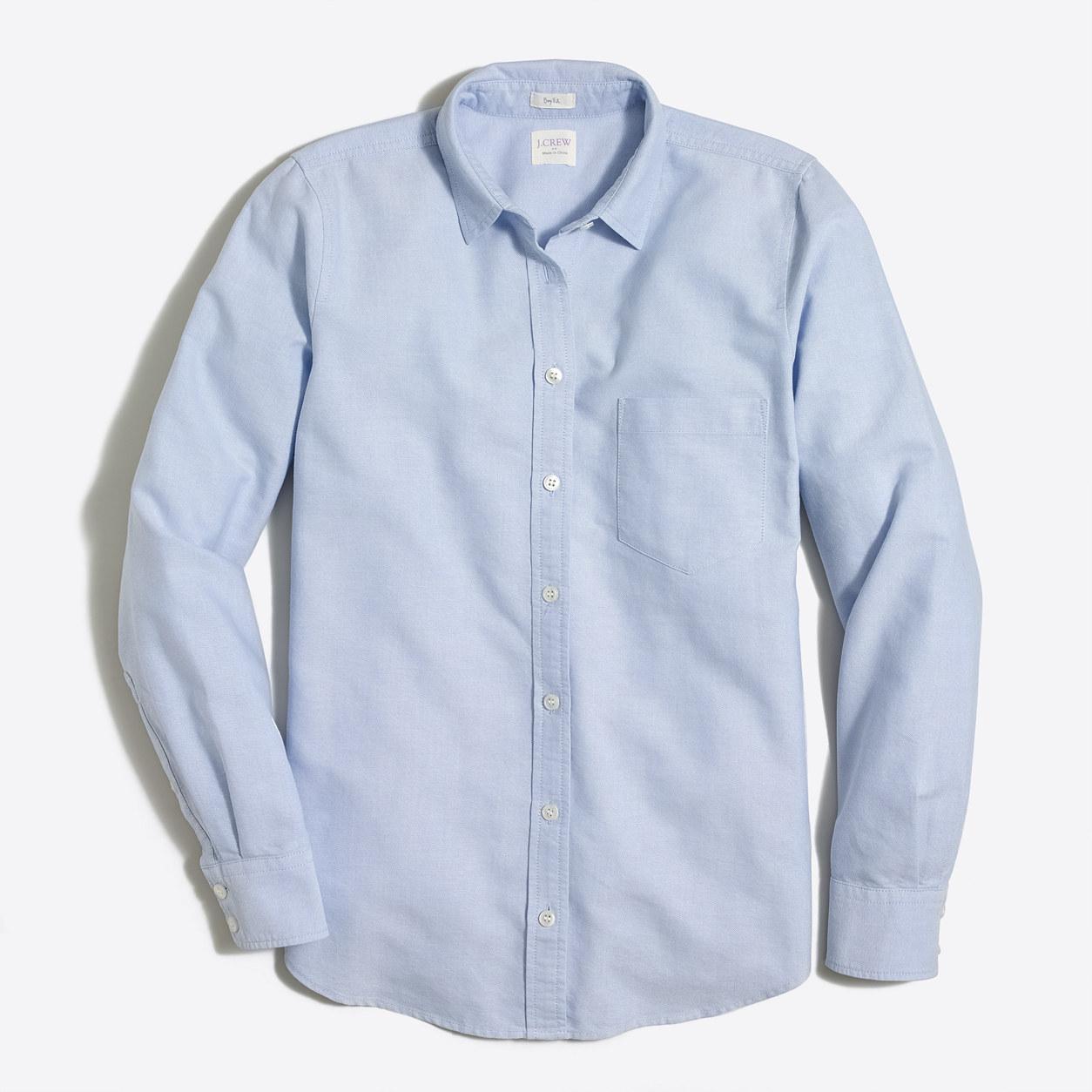 Stretch Classic Button-down Shirt | J.Crew Factory