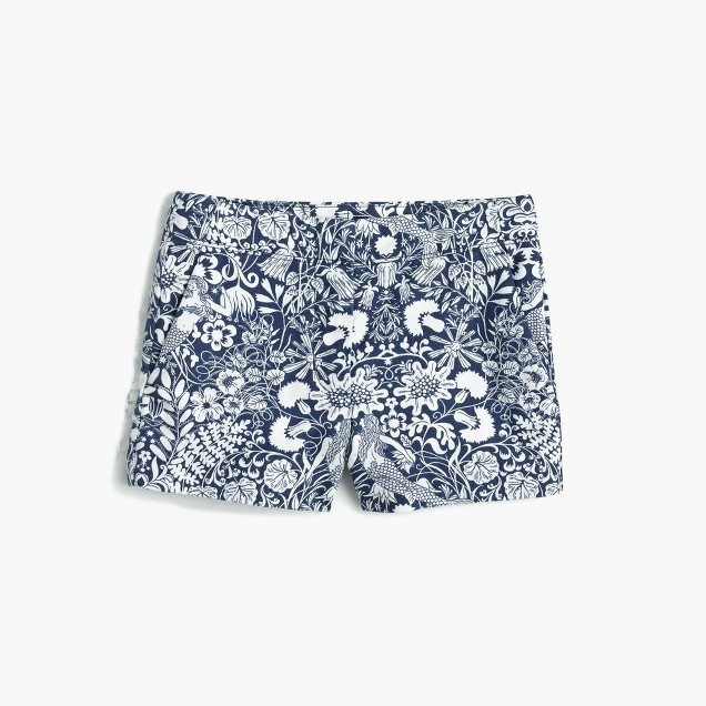 Girls' Frankie short in mermaid floral