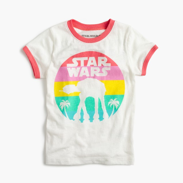 Kids' Star Wars™ for crewcuts Rogue One ringer T-shirt
