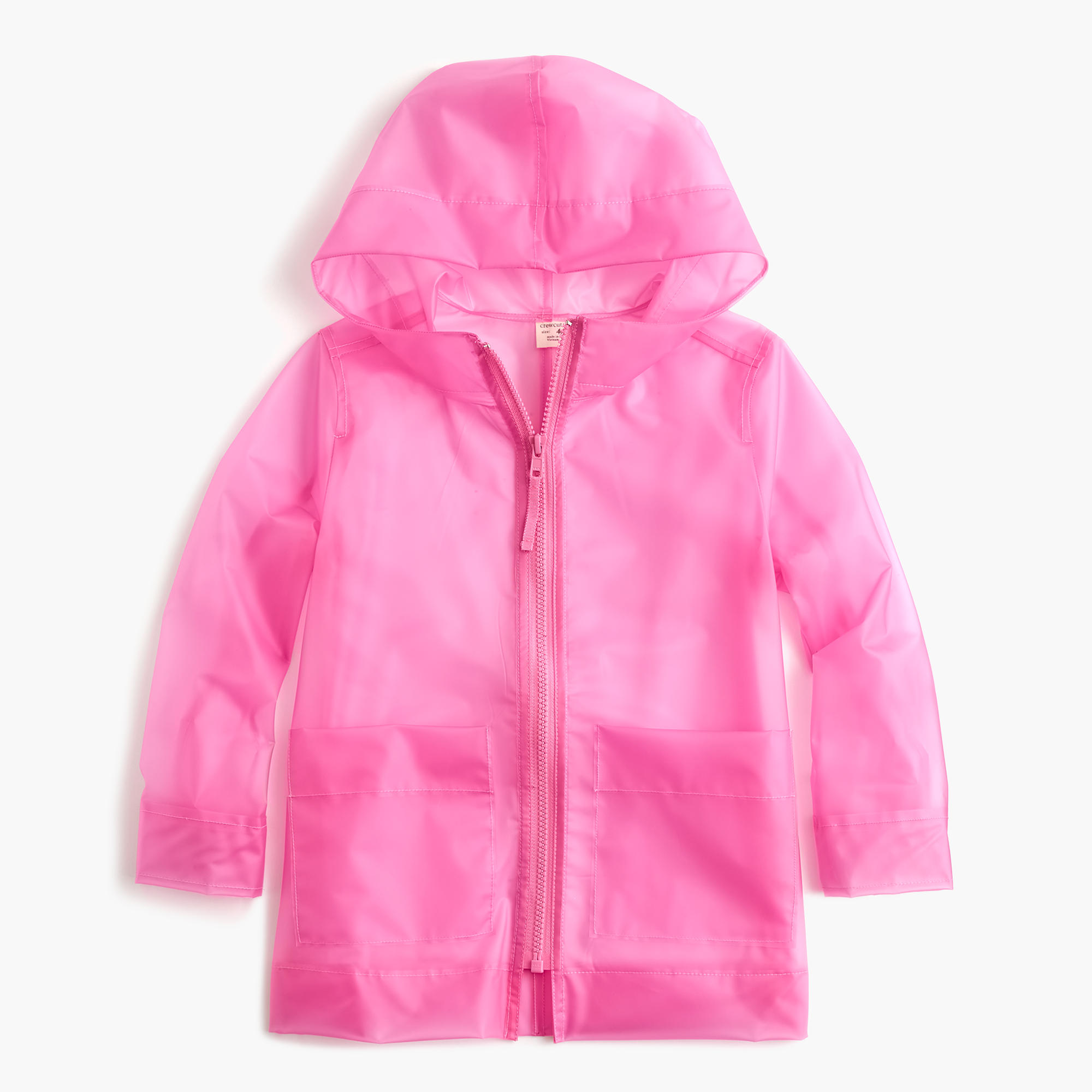 Girls' ruffle-back chino jacket : Girl lightweight and denim | J.Crew