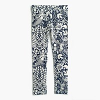 Girls' everyday leggings in mermaid floral