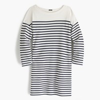 Striped boatneck tunic