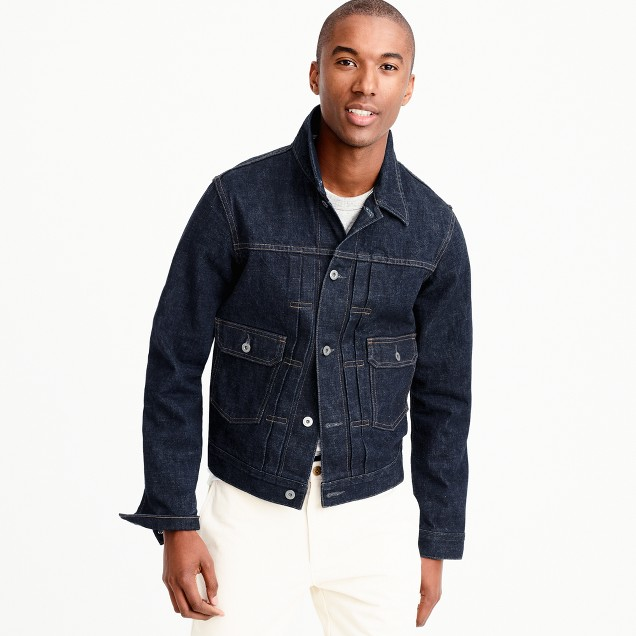 Wallace & Barnes Japanese denim jacket