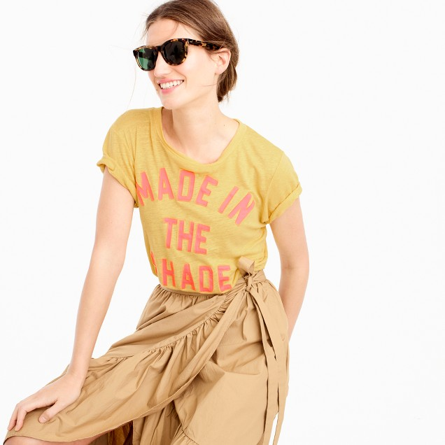 """""""Made in the shade"""" T-shirt"""