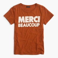 """Merci beaucoup"" T-shirt"