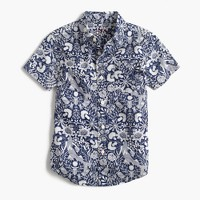 Kids' short-sleeve Secret Wash shirt in mermaid floral