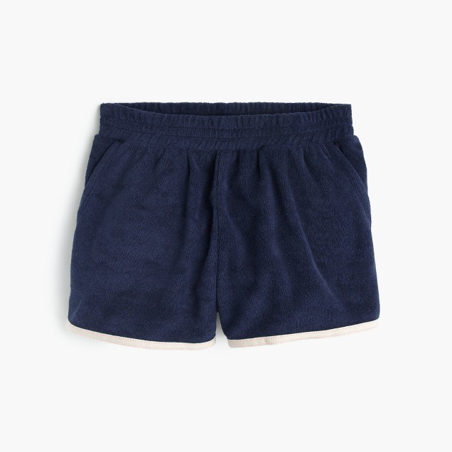 Girls' terry short