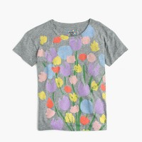 Michael De Feo™ for J.Crew painted tulips T-shirt