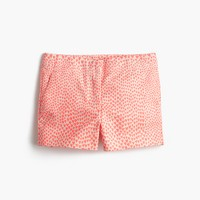 Girls' Frankie short in heart print