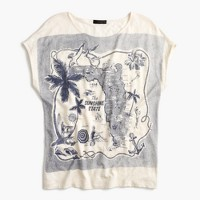 """Florida"" destination art T-shirt"