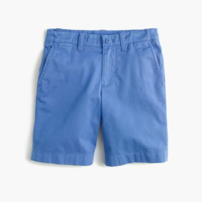 Boys' stretch Stanton short in lightweight garment-dyed chino