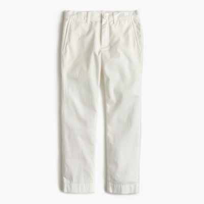 Boys' lightweight chino pant in stretch skinny fit