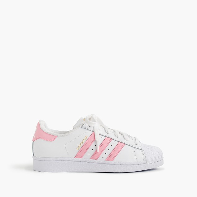 Girls' Adidas® Superstar™ sneakers in larger sizes