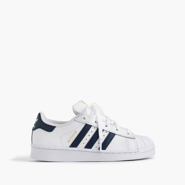 Kids' Adidas® Superstar™ sneakers in larger sizes
