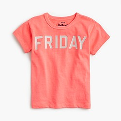 "Girls' ""Friday"" T-shirt"