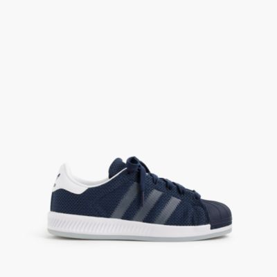 Kids' Adidas® Superstar™ sneakers in navy