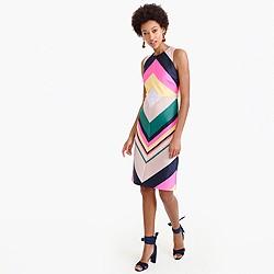 Petite pop-stripe dress