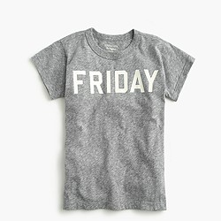 "Boys' ""Friday"" T-shirt in the softest jersey"