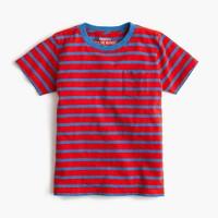 Boys' bright striped T-shirt