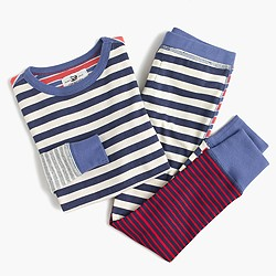 Boys' pajama set in mash-up