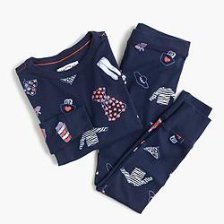 Girls' pajama set in Olive's dream wardrobe