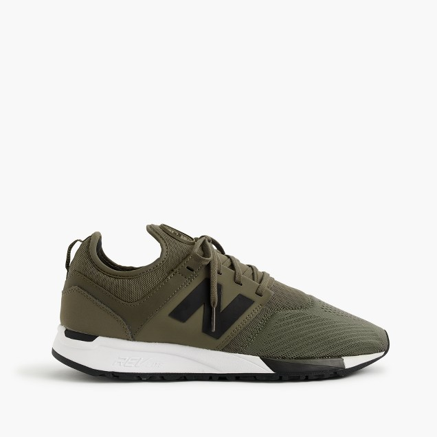 New Balance® 247 Sport sneakers in olive