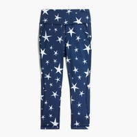 New Balance® for J.Crew high-waisted performance crop leggings in star print