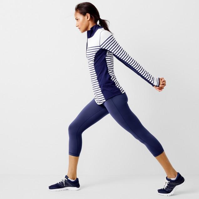 New Balance® for J.Crew in-transit pullover in stripe