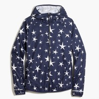 New Balance® for J.Crew star-print windbreaker