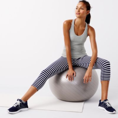 New Balance® for J.Crew racerback tank top with built-in bra