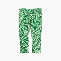 New Balance® for J.Crew performance capri leggings in palm print
