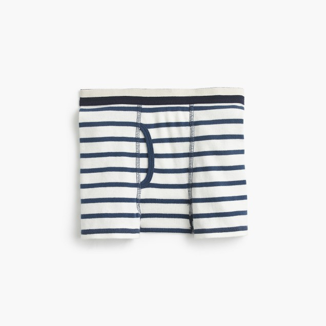 Boys' striped knit boxers