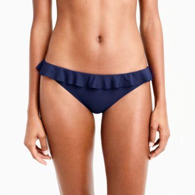 Ruffle hipster bikini bottom