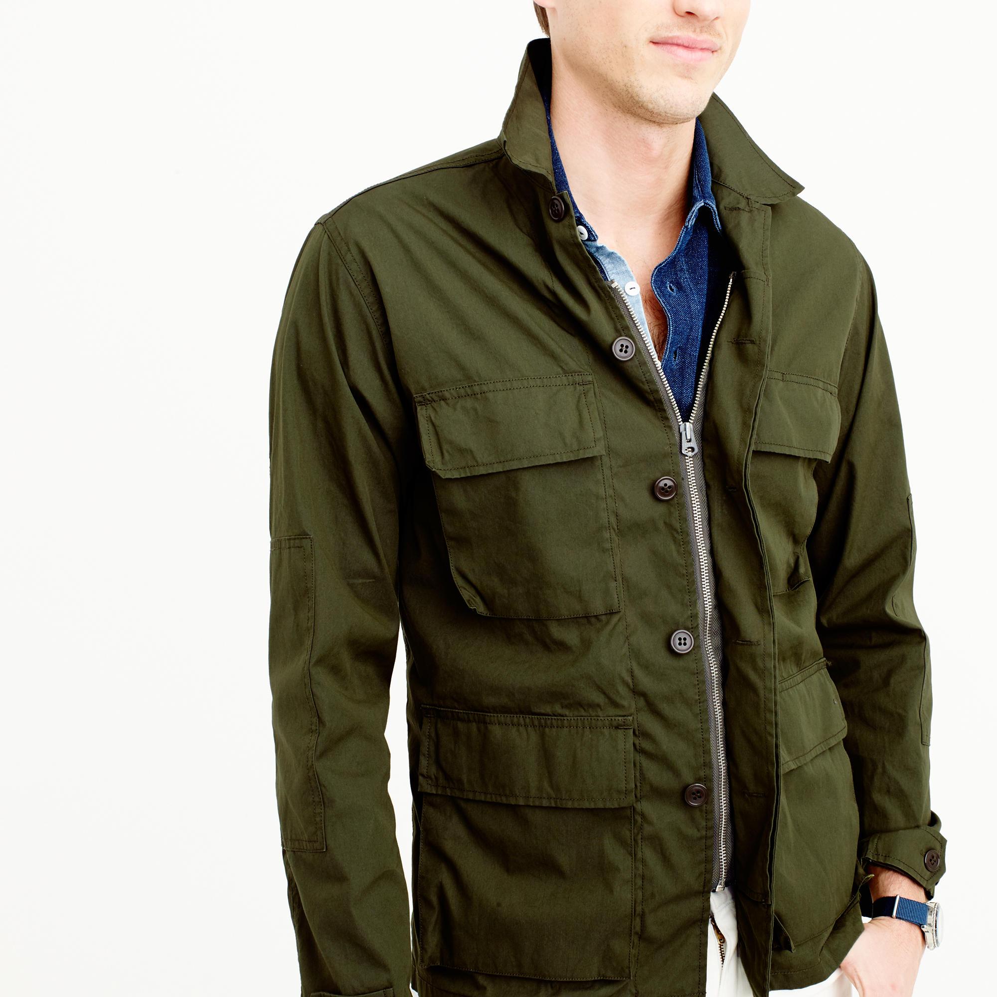 Wallace & Barnes lightweight military jacket : Men Wallace ...
