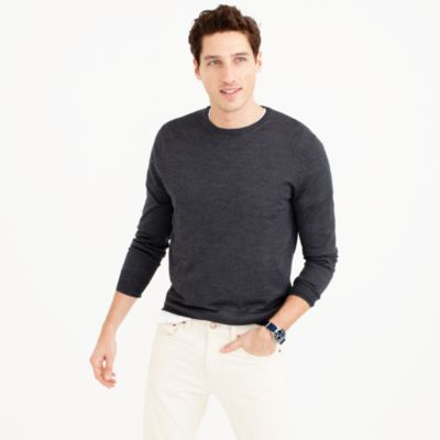 Lightweight Italian merino wool sweater