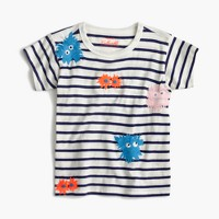 Girls' Max the Monster striped T-shirt