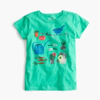 Girls' garden T-shirt