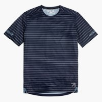 New Balance® for J.Crew cooling workout T-shirt in stripe