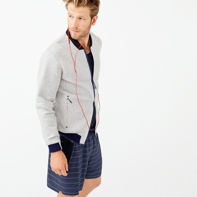 "New Balance® for J.Crew 7"" short in stripe"