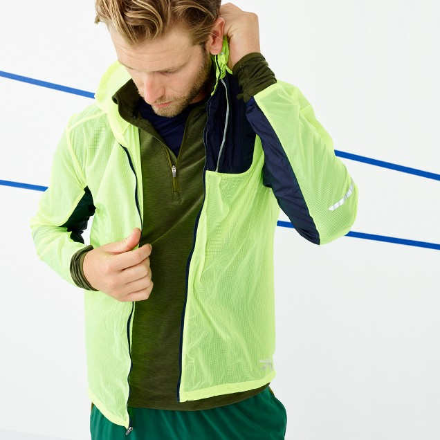 New Balance® for J.Crew lightweight packable jacket