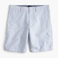 "9"" oxford short in thin stripe"
