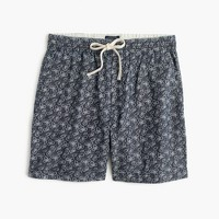 Dock short in floral print