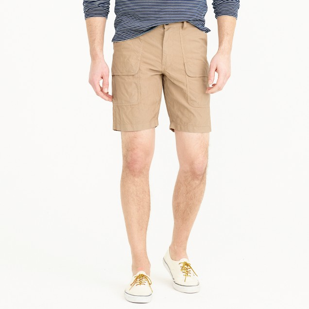 Wallace & Barnes garment-dyed canvas barn short
