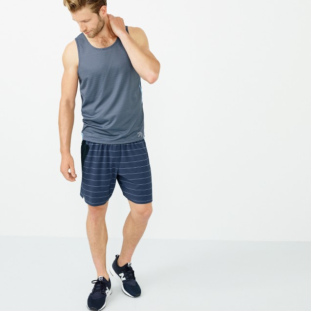 New Balance® for J.Crew cooling workout tank top in stripe