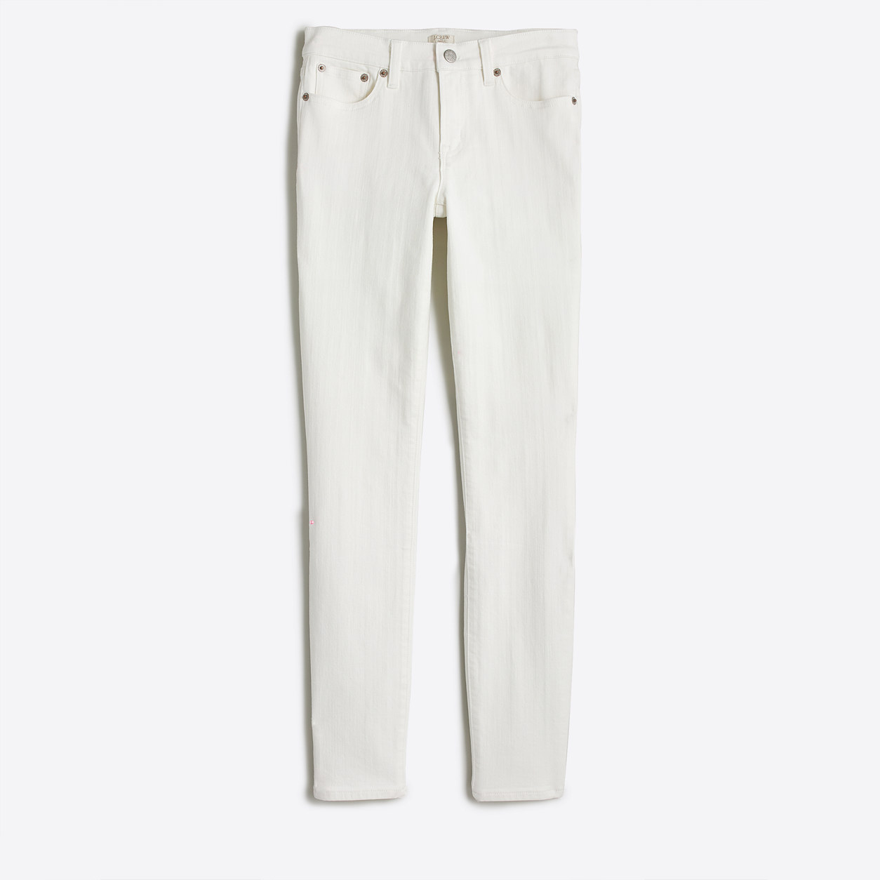 White skinny ankle jean with 28