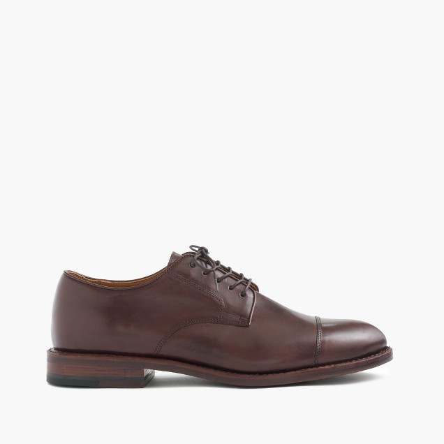 Ludlow balmoral cap-toe shoes