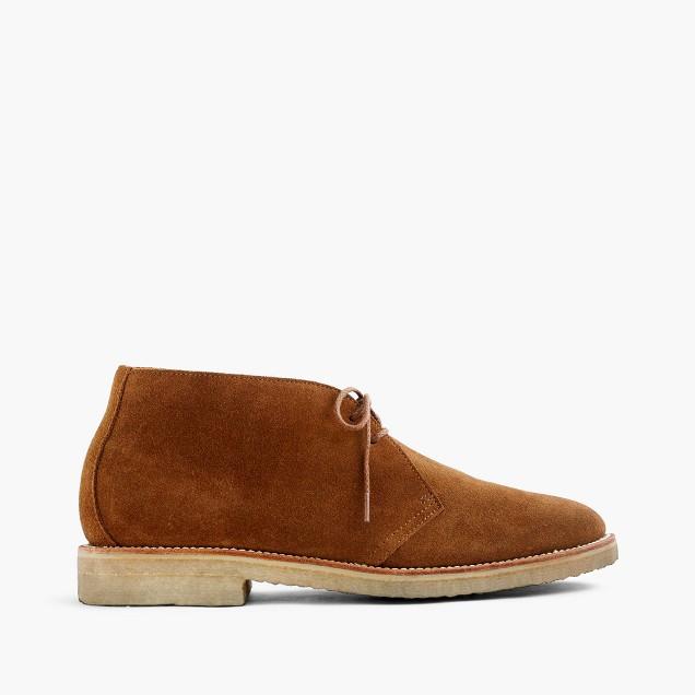 Kenton crepe-sole chukka boots